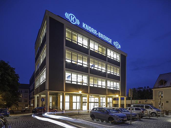 Kancelář Liberec fasáda