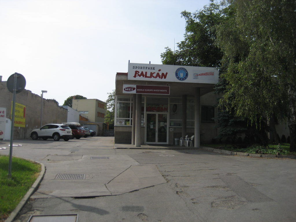 Reklamni plocha Jugoslavska, Brno